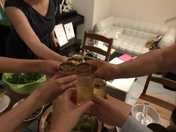 夏の鍋会 目黒エステ