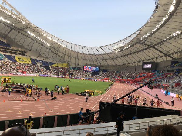 男子100m予選!!